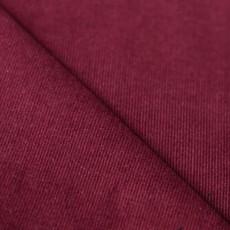 Tissu velours côtelé milleraies rouge bordeaux
