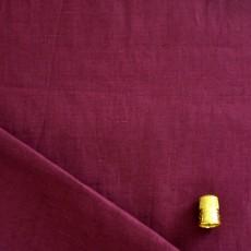 Tissu lin lie de vin