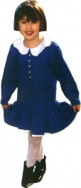 Patron couture robe fille col claudine