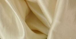 Satin chanvre et soie 150 g/m2 BIO Naturel