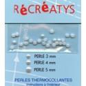 Demi-perles nacrées thermocollantes