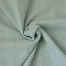 Tissu double-gaze bio vert amande