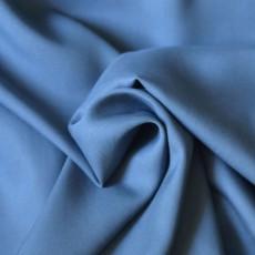 Tissu Lyocell bleu jean fluide et doux comme de la soie