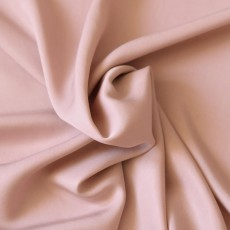 Tissu Lyocell rose poudré au mètre