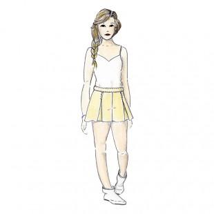 Mouffetard teen shorts pattern 12-16 y.o.