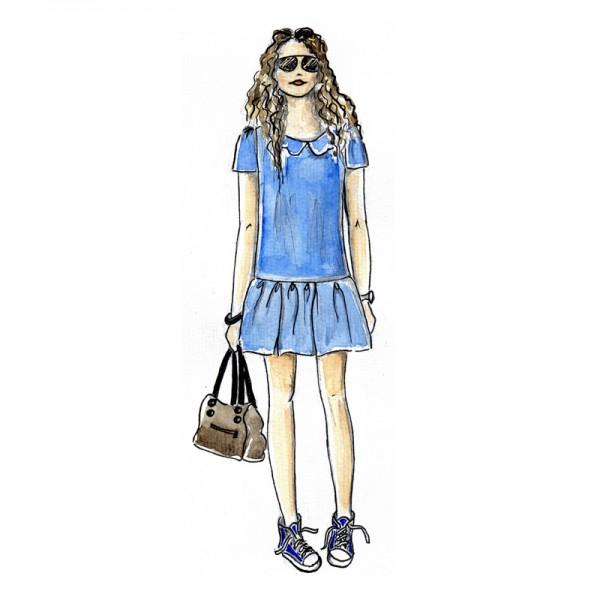 Lulu teen dress pattern