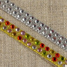 Ruban de strass thermocollant