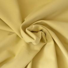 sweat fin bio jaune pâle bouclette