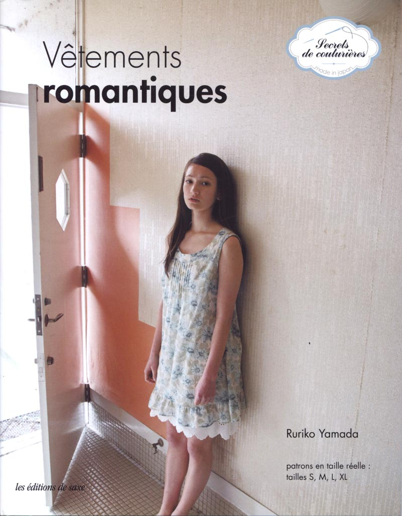 Livre couture vêtements romantiques