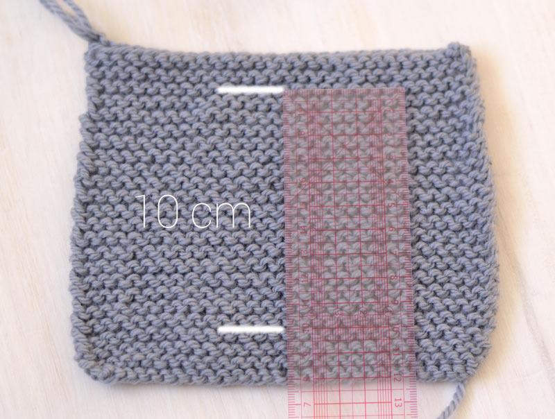 tricot échantillon laine numéro 5 Fonty