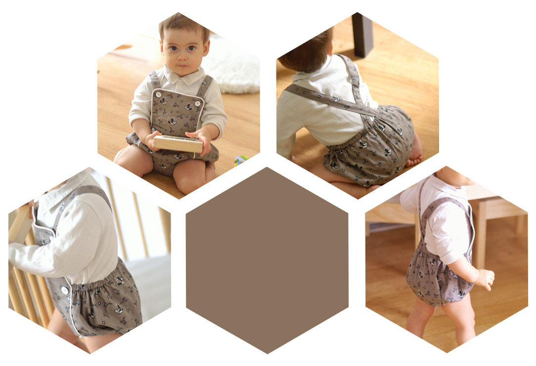 Sirl romper bloomer sewing pattern