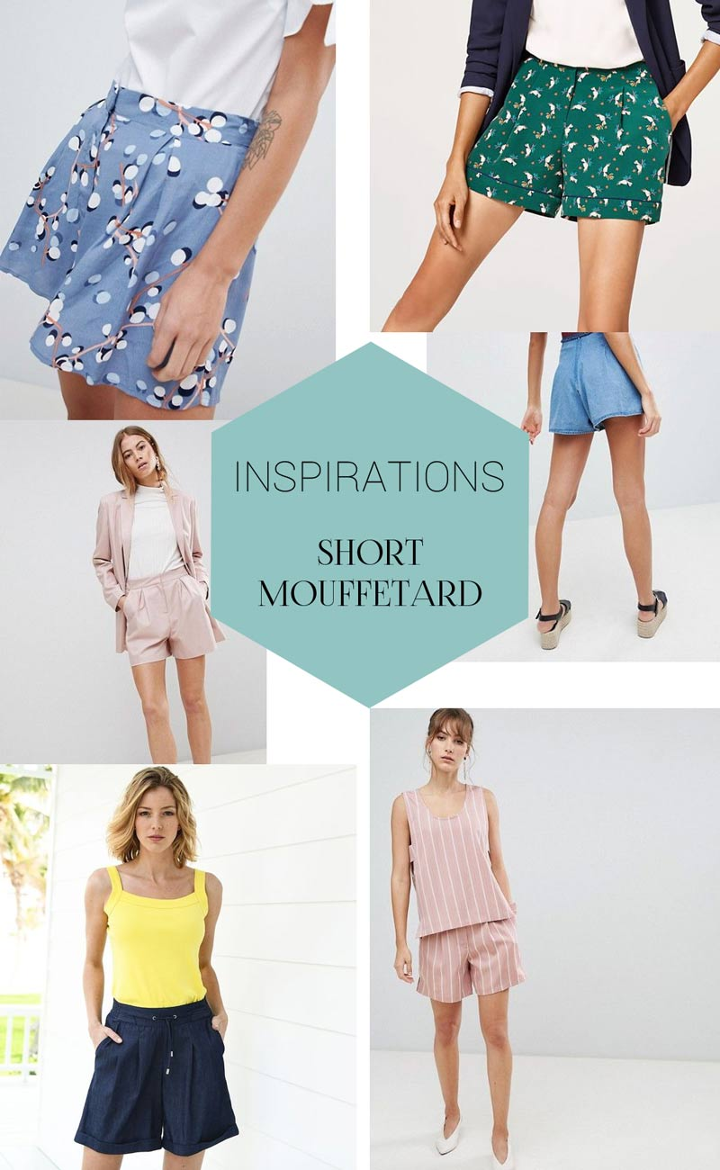 Inspiration patron couture Short Mouffetard A&A