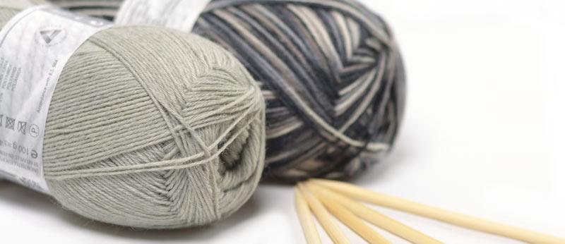 Laine pour chaussettes à tricoter Balade de Cheval Blanc