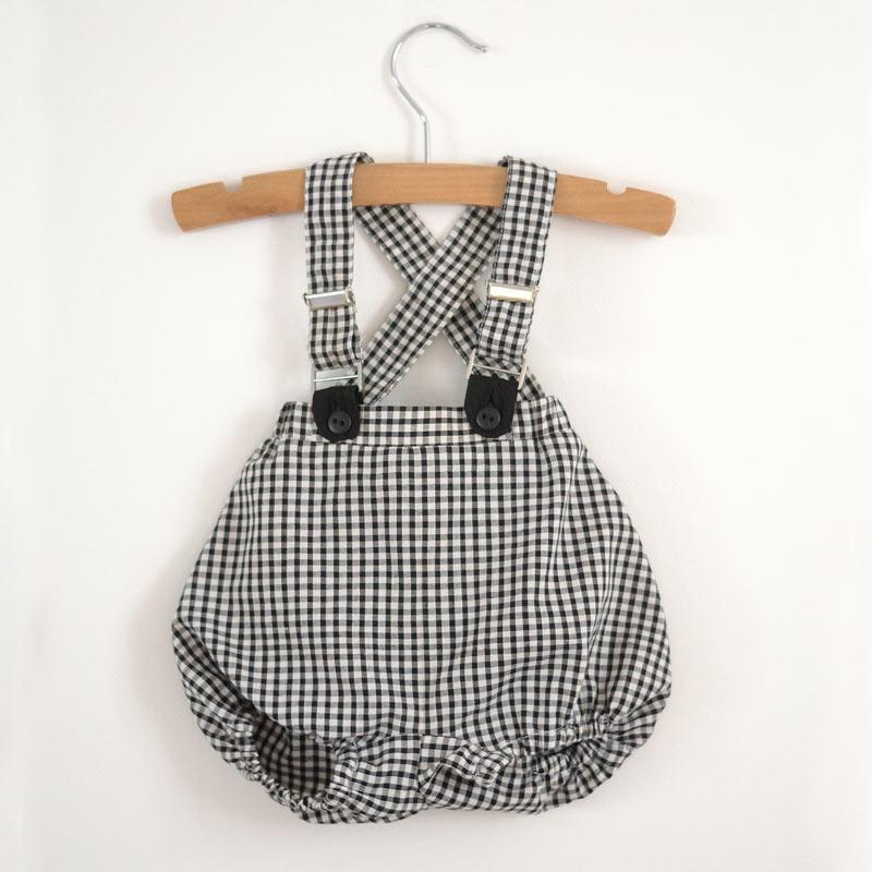 Patron couture facile bloomer bébé Calao