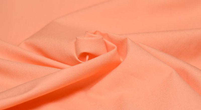 Tissu de coton uni