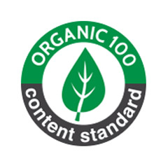 Label organic 100 standard