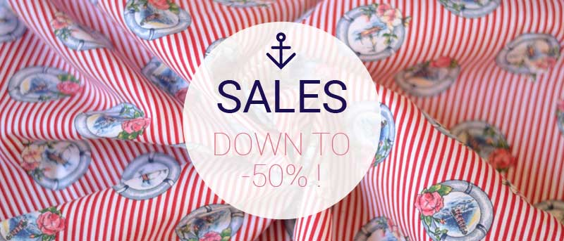 A&A summer 2018 haberdashery fabric sales