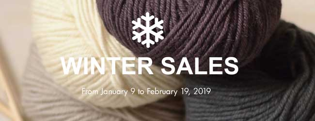 Winter sale haberdashery, fabric, wool A&A Patrons