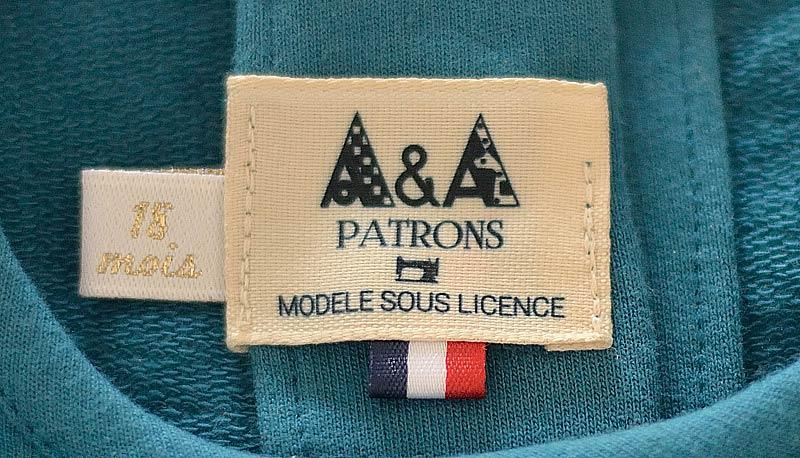 Etiquettes licence commerciale A&A