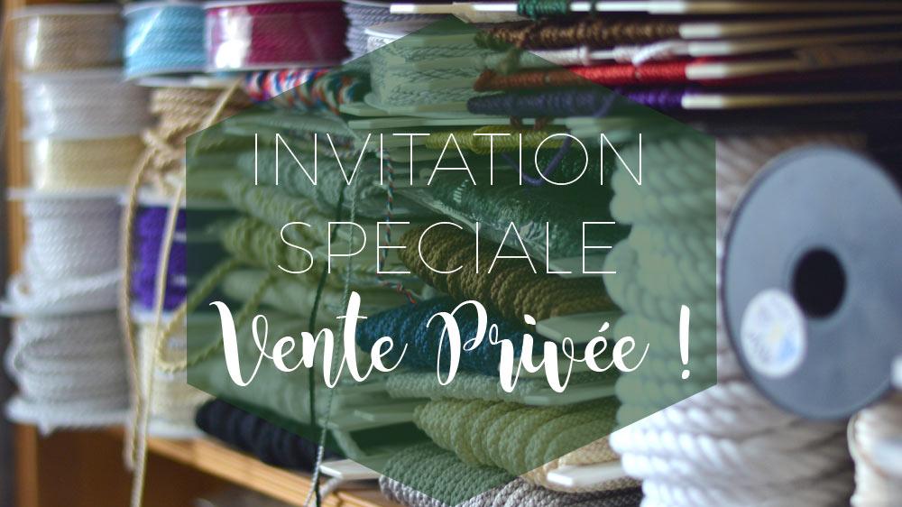 Vente privée mercerie A et A Nantes