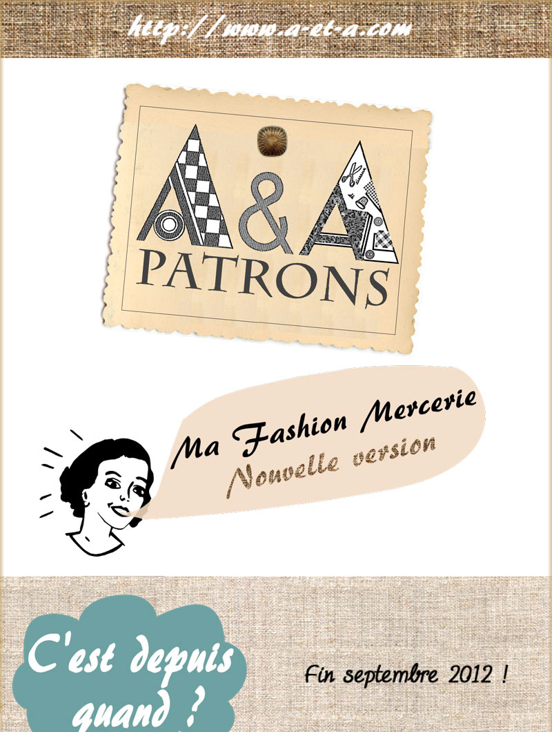 A&A Patrons : Ma Fashion Mercerie