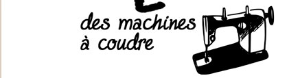 Machines à coudre