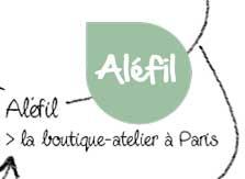 Alefil la boutique atelier à Paris 17ème